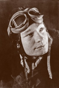 Helmut Sinn, der junge Flieger