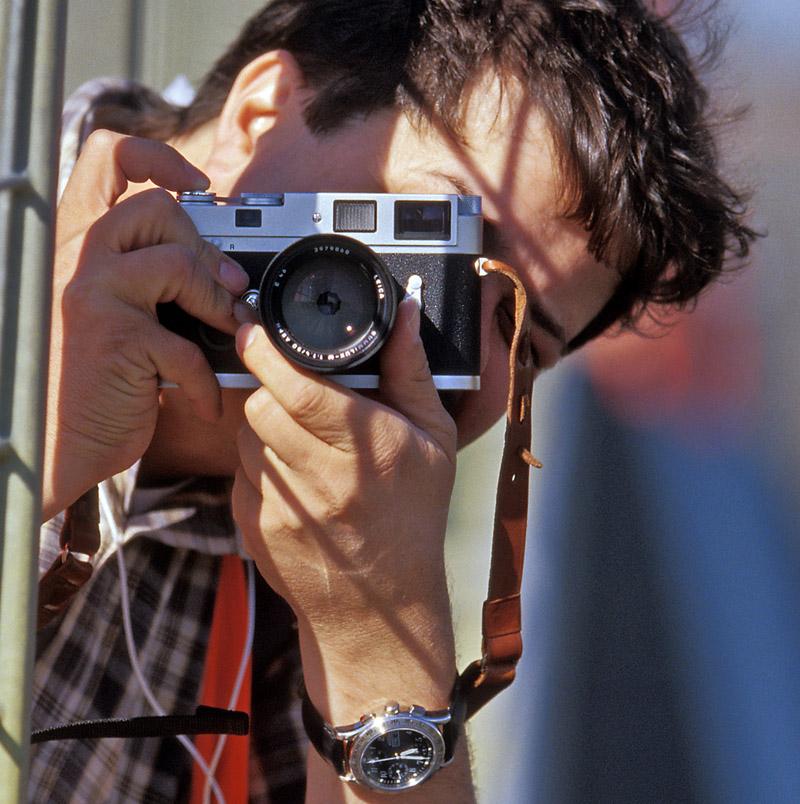 Mit der Leica MP beim Oldtimer Grand Prix am Nürburgring.