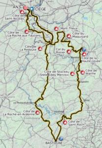 Streckenverlauf 2012