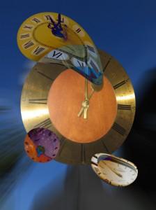 schmelzende Uhren