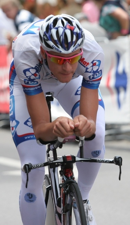 Anthony Roux während des Prologs der Tour de France 2012 in Lüttich