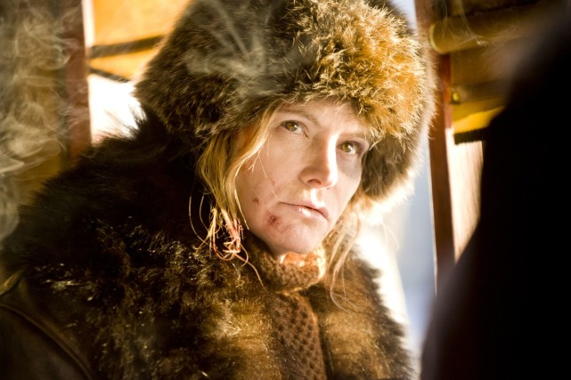 Für einen Academy Award nominiert: Jennifer Jason Leigh Photo: Andrew Cooper, SMPSP © 2015 The Weinstein Company. All Rights Reserved.