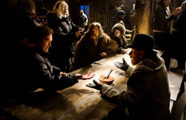 "Tarantino inszeniert ""The Hateful 8"""