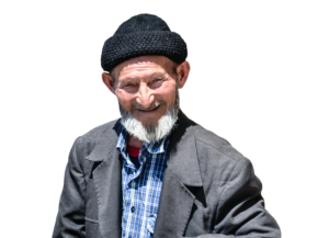 grandfather, masked, psd
