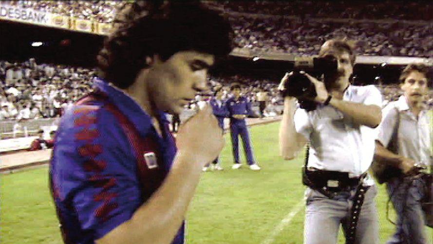 Auch Maradona spielte im Camp Nou